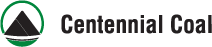 Logo for Centennial Coal